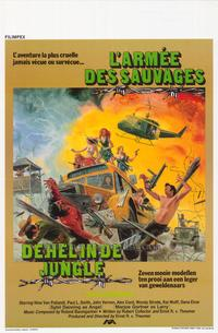 Jungle Warriors - 27 x 40 Movie Poster - Belgian Style A