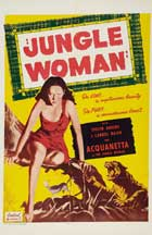 Jungle Woman - 27 x 40 Movie Poster - Style B