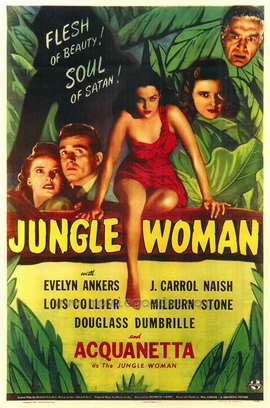 Jungle Woman - 27 x 40 Movie Poster - Style A