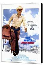 Junior Bonner - 27 x 40 Movie Poster - Style A - Museum Wrapped Canvas