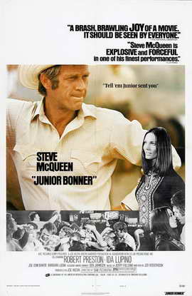 Junior Bonner - 11 x 17 Movie Poster - Style B