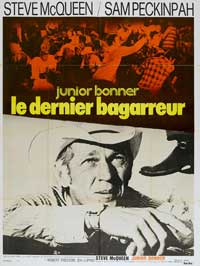Junior Bonner - 11 x 17 Movie Poster - French Style A