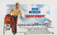 Junior Bonner - 11 x 17 Movie Poster - Belgian Style A