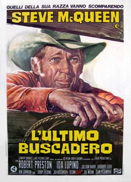Junior Bonner - 11 x 17 Movie Poster - Italian Style B