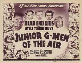 Junior G-Men of the Air - 11 x 17 Movie Poster - Style C