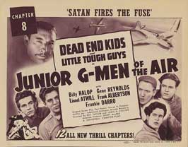 Junior G-Men of the Air - 11 x 17 Movie Poster - Style D