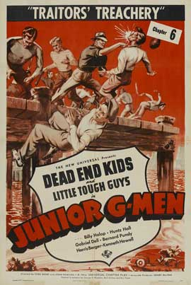 Junior G-Men of the Air - 11 x 17 Movie Poster - Style E
