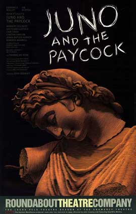 Juno and the Paycock (Broadway) - 27 x 40 Poster - Style A