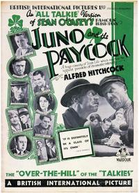 Juno and the Paycock - 43 x 62 Movie Poster - Bus Shelter Style A