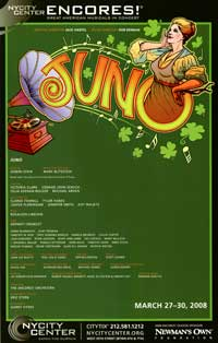 Juno (Broadway) - 27 x 40 Poster - Style A