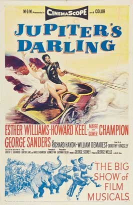 Jupiter's Darling - 27 x 40 Movie Poster - Style B