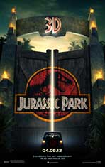 Jurassic Park - DS 1 Sheet Movie Poster - Style A