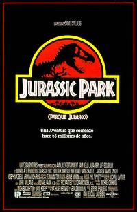 Jurassic Park - 11 x 17 Movie Poster - Spanish Style A