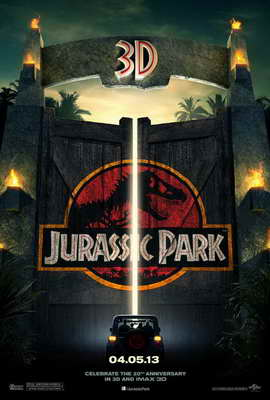 Jurassic Park - 27 x 40 Movie Poster - Style A