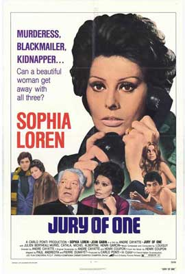 Jury of One - 27 x 40 Movie Poster - Style A