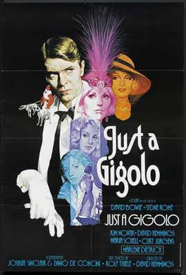 Just a Gigolo - 11 x 17 Movie Poster - UK Style A