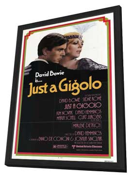 Just a Gigolo - 11 x 17 Movie Poster - Style A - in Deluxe Wood Frame