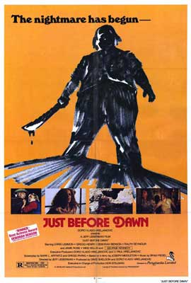 Just Before Dawn - 27 x 40 Movie Poster - Style A
