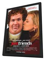 Just Friends - 11 x 17 Movie Poster - Style A - in Deluxe Wood Frame