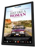 Just Like a Woman - 11 x 17 Movie Poster - Italian Style A - in Deluxe Wood Frame