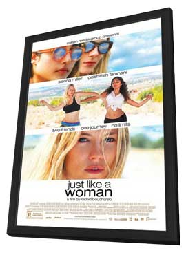 Just Like a Woman - 11 x 17 Movie Poster - Style A - in Deluxe Wood Frame