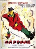 Just Me - 11 x 17 Movie Poster - French Style B