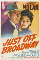 Just Off Broadway - 11 x 17 Movie Poster - Style A