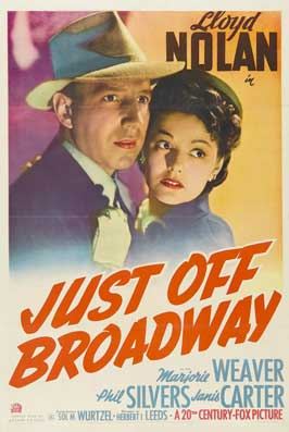 Just Off Broadway - 27 x 40 Movie Poster - Style A