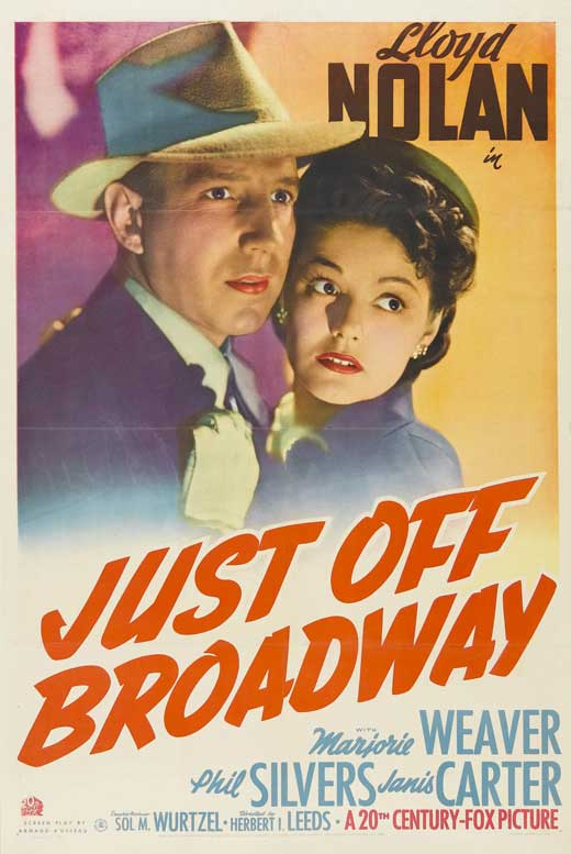 Just Off Broadway movie