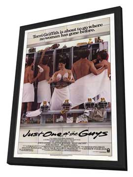 Just One of the Guys - 27 x 40 Movie Poster - Style A - in Deluxe Wood Frame