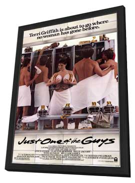 Just One of the Guys - 11 x 17 Movie Poster - Style A - in Deluxe Wood Frame