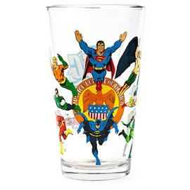 Justice League - Glass Toon Tumbler