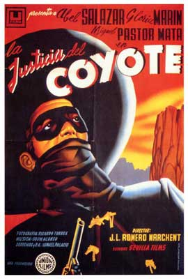 La Justicia del Coyote - 27 x 40 Movie Poster - Spanish Style A