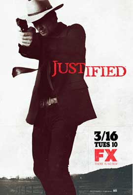 Justified - 11 x 17 TV Poster - Style A