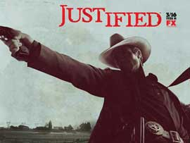 Justified - 11 x 17 TV Poster - Style C