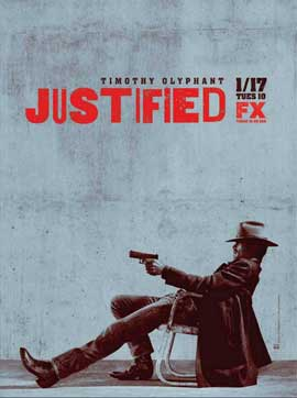 Justified - 11 x 17 TV Poster - Style E