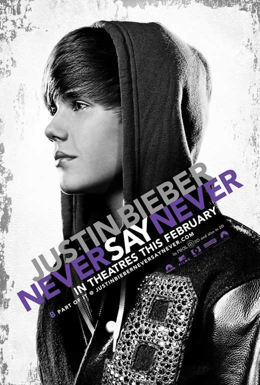 justin bieber never say never movie on dvd. justin bieber movie never say