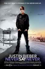Justin Bieber: Never Say Never - 11 x 17 Movie Poster - Style C