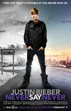 Justin Bieber: Never Say Never - 27 x 40 Movie Poster - Style C