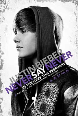 Justin Bieber: Never Say Never - 11 x 17 Movie Poster - Style A
