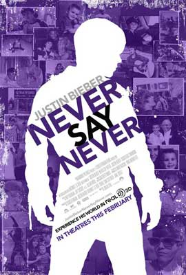 Justin Bieber: Never Say Never - 11 x 17 Movie Poster - Style B