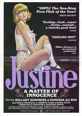 Justine - A Matter of Innocence - 11 x 17 Movie Poster - Style A