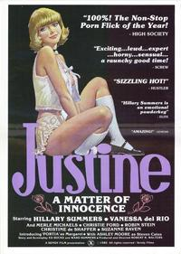 Justine - A Matter of Innocence - 27 x 40 Movie Poster - Style A