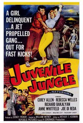Juvenile Jungle - 27 x 40 Movie Poster - Style A