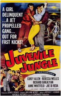 Juvenile Jungle - 43 x 62 Movie Poster - Bus Shelter Style A