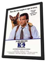 K-9 - 27 x 40 Movie Poster - Style A - in Deluxe Wood Frame
