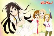 K-On! (TV) - 11 x 17 TV Poster - Japanese Style B