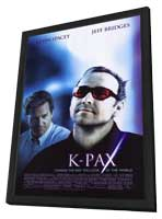 K-PAX - 11 x 17 Movie Poster - Style B - in Deluxe Wood Frame