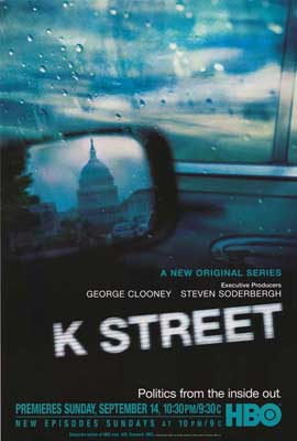 K Street - 11 x 17 Movie Poster - Style A