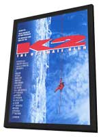 K2: The Ultimate High - 11 x 17 Movie Poster - Style A - in Deluxe Wood Frame